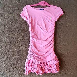 Ruffled & Gathered  Dress by Ralph Lauren (Size 6)